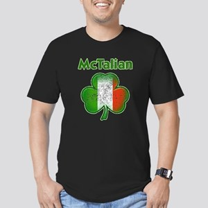 McTalian Distressed Men's Fitted T-Shirt (dark)