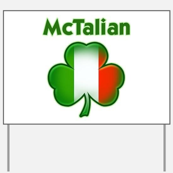 McTalian Yard Sign