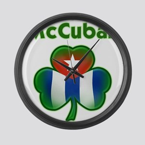 McCuban Large Wall Clock