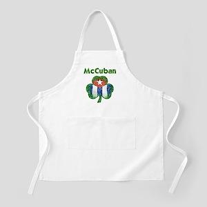 McCuban distressed Apron
