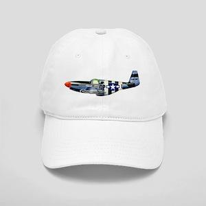 P-51 Mustang Drawing Cap