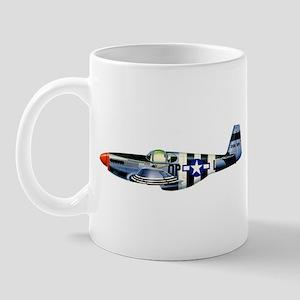 P-51 Mustang Drawing Mug