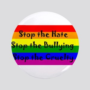 """Stop the Hate 3.5"""" Button"""