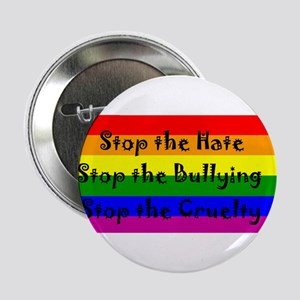 "Stop the Hate 2.25"" Button"