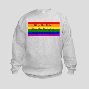 Stop the Hate Kids Sweatshirt