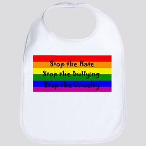 Stop the Hate Bib
