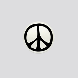 Flowing Peace Sign Mini Button