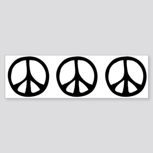 Flowing Peace Sign Sticker (Bumper)