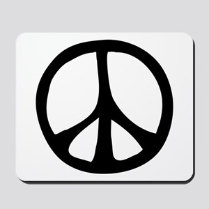 Flowing Peace Sign Mousepad