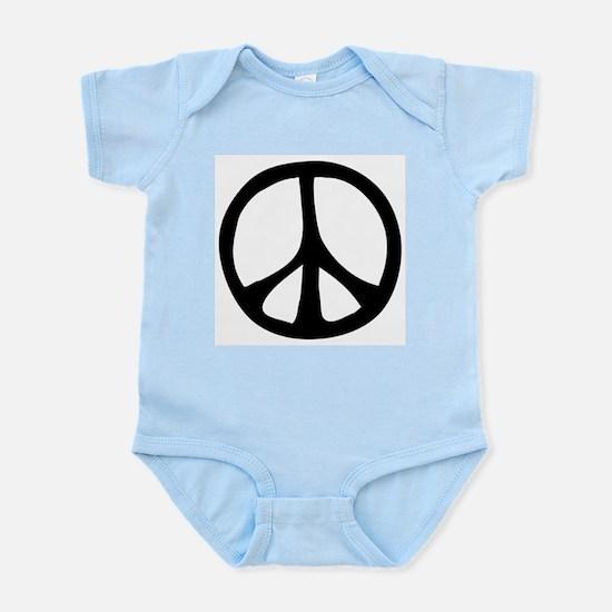 Flowing Peace Sign Infant Bodysuit