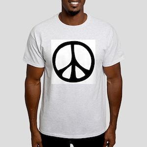 Flowing Peace Sign Light T-Shirt