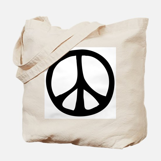 Flowing Peace Sign Tote Bag