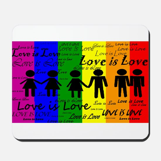 Love is Love Mousepad