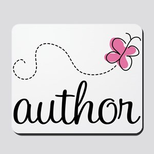Cute Author Mousepad