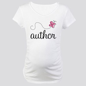 Cute Author Maternity T-Shirt