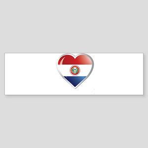 PARAGUAY Sticker (Bumper)