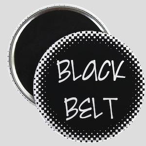 Martial Arts Black Belt Magnet