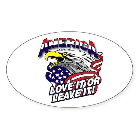 America - Love It or Leave It Sticker