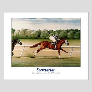 Secretariat Small Poster