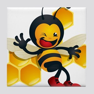 Bumble Bee Tile Coaster