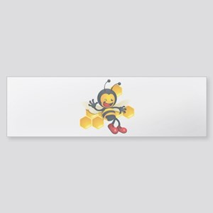 Bumble Bee Sticker (Bumper)