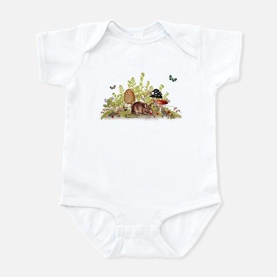 Woodland Mouse Infant Bodysuit