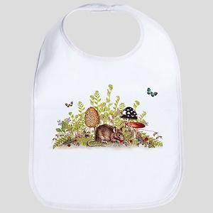 Woodland Mouse Bib