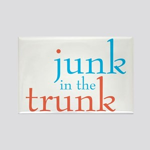Junk in the Trunk/Lady Lumps Rectangle Magnet