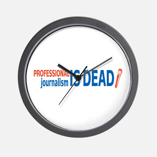 Journalism is Dead Wall Clock
