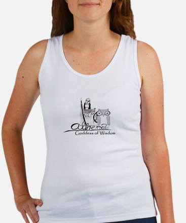 Athena: Goddess of Wisdom Women's Tank Top