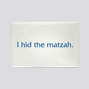 I Hid The Matzah Rectangle Magnet (10 pack)