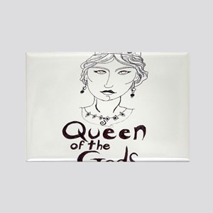 Queen of the Gods (w/o peacoc Rectangle Magnet