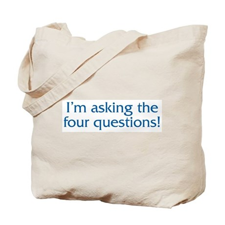 The Four Questions Tote Bag