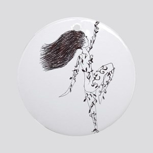 Dancing Nymph Ornament (Round)