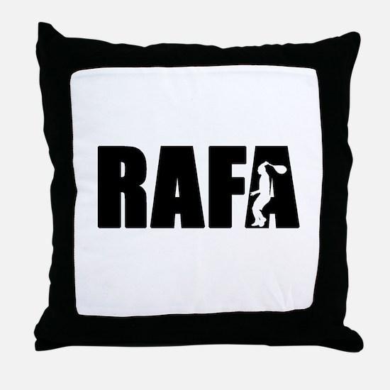 Cute Rafael Throw Pillow