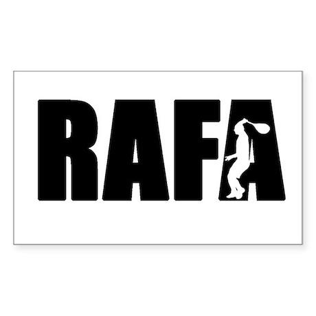 RAFA500 Sticker