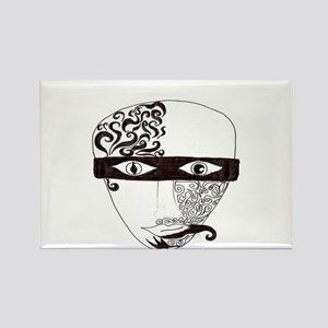 Mask Two Rectangle Magnet