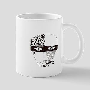 Mask Two Mug