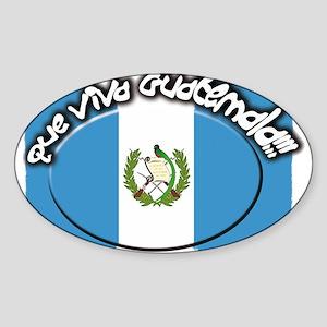 GUATEMALA Sticker (Oval)