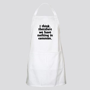 Nothing in Common Apron