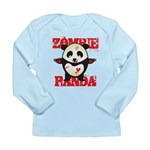 Zombie Panda Long Sleeve Infant T-Shirt