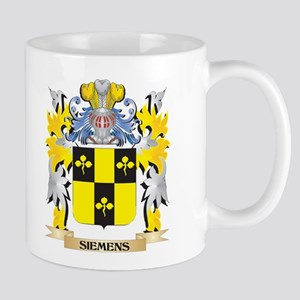 Siemens Family Crest - Coat of Arms Mugs