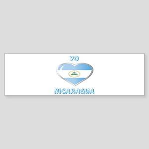 NICARAGUA Sticker (Bumper)