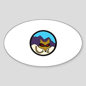 Caza Ladron Sticker (Oval)