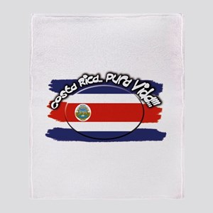 COSTA RICA Throw Blanket