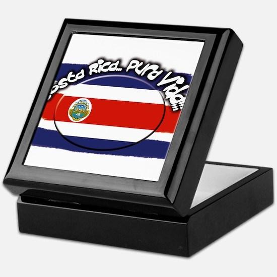 COSTA RICA Keepsake Box
