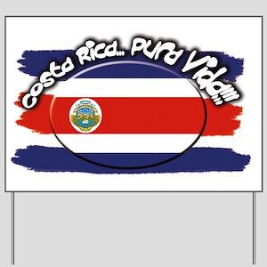 COSTA RICA Yard Sign