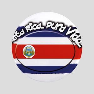 """COSTA RICA 3.5"""" Button"""