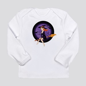 Red Headed Witch Long Sleeve Infant T-Shirt