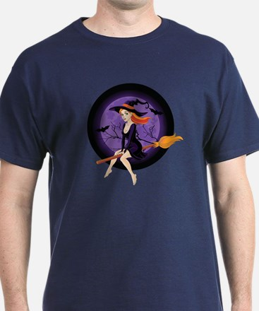 Red Headed Witch T-Shirt